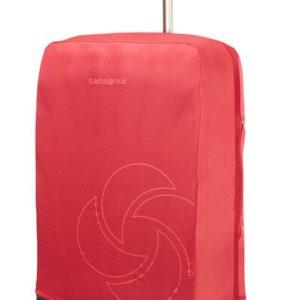 Samsonite Ochranný obal na kufr vel. L/M - červená