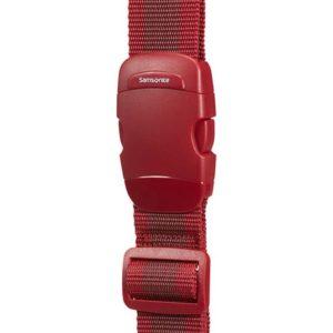 Samsonite Popruh na kufr 38 mm - červená