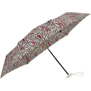 Samsonite Skládací deštník Alu Drop S 3 - vzor/černá
