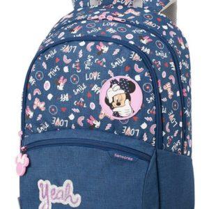 Samsonite Školní batoh Color Funtime Disney L 24 l - Minnie Doodles