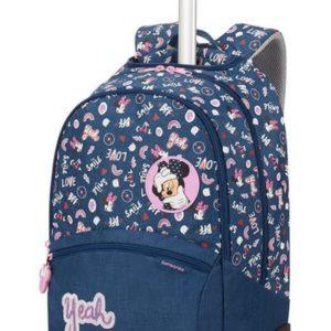Samsonite Školní batoh na kolečkách Color Funtime Disney 26 l - tmavě modrá