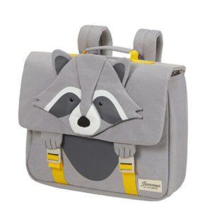 Samsonite Školní taška Happy Sammies S Raccoon Remy 9 l - šedá