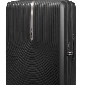 Samsonite Skořepinový cestovní kufr Hi-Fi EXP 100/110 l - černá