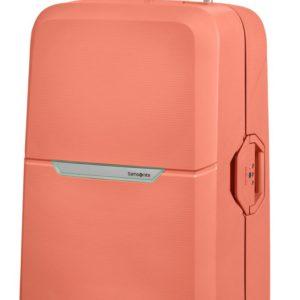 Samsonite Skořepinový cestovní kufr Magnum 104 l - korálová