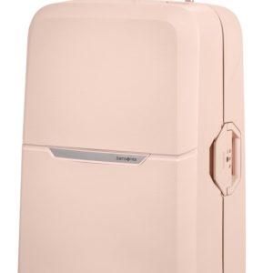 Samsonite Skořepinový cestovní kufr Magnum 104 l - světle růžová