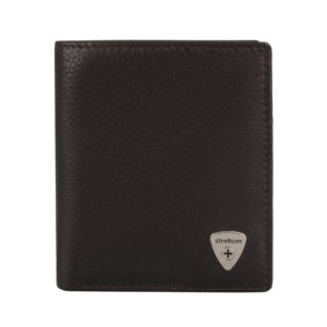 Strellson Pánská kožená peněženka Harrison 4010001046 - tmavě hnědá