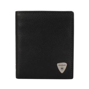 Strellson Pánská kožená peněženka Harrison 4010001046 - černá