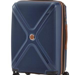Titan Cestovní skořepinový kufr Paradoxx 4w M Navy 80/88 l