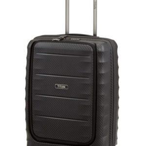 Titan Kabinový kufr Highlight 4w S Front pocket Black 42 l