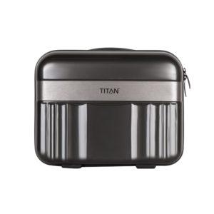 Titan Kosmetický kufr Spotlight Flash Anthracite 21 l