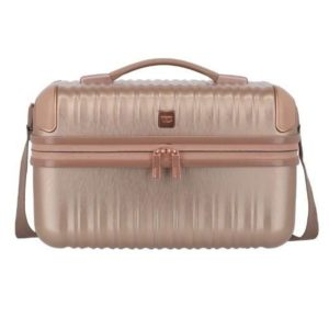 Titan Kosmetický kufřík Barbara Glint Beauty Case Rose metallic