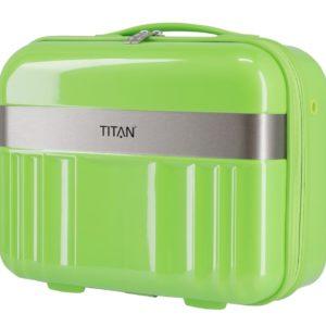 Titan Kosmetický kufřík Spotlight Flash Beauty case Flashy Kiwi 21 l