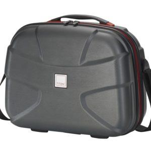 Titan Kosmetický kufřík X2 Beauty case Black brushed 825702-03