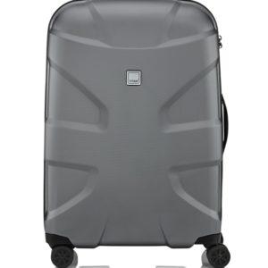Titan Skořepinový cestovní kufr X2 Shark Skin 4w M+ Gunmetal shark 90 l