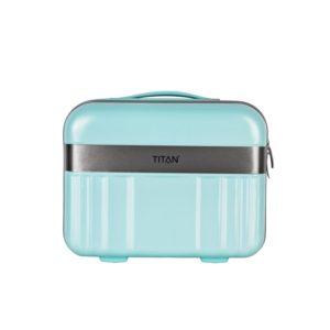 Titan Skořepinový kosmetický kufřík Spotlight Flash modrá