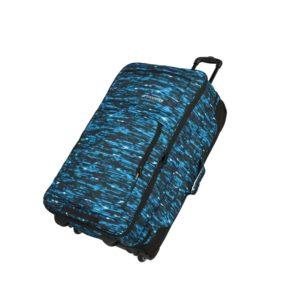 Travelite Cestovní taška Basics Doubledecker Blue print 100/127 l