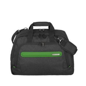 Travelite Cestovní taška Madeira Weekender Anthracite/Green 30 l