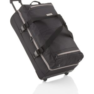 Travelite Cestovní taška na kolečkách Basics Doubledecker Black 94 l