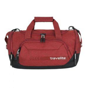 Travelite Cestovní/sportovní taška Kick Off Duffle S 6913 23 l - červená