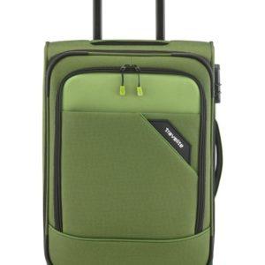 Travelite Kabinový kufr Travelite Derby 4w S Green 41 l