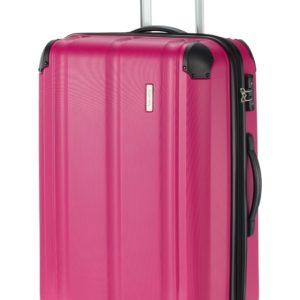 Travelite Skořepinový cestovní kufr City M Berry 78/86 l