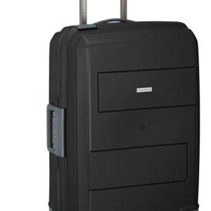 Travelite Skořepinový cestovní kufr Makro 4w M Black 72 l