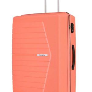 Travelite Skořepinový cestovní kufr Nubis L Coral  92 l