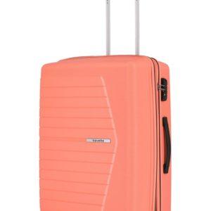 Travelite Skořepinový cestovní kufr Nubis M Coral 70/76 l