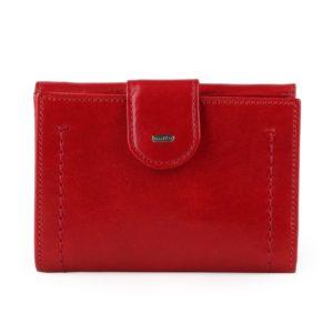 Uniko Dámská kožená peněženka Beltline - červená