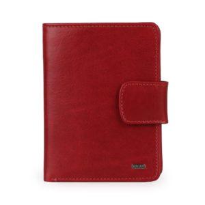 Uniko Kožená peněženka Unisex Label 213906 - červená