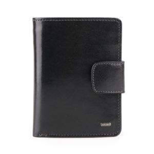 Uniko Kožená peněženka Unisex Label 213906 - černá