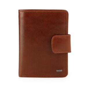Uniko Kožená peněženka Unisex Label 213906 - hnědá