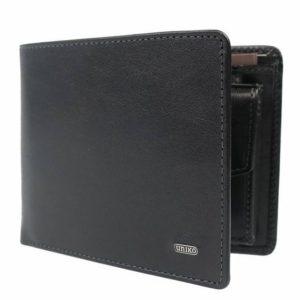 Uniko Pánská kožená peněženka 601 - černá