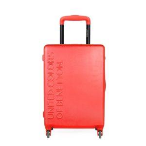 United Colors of Benetton Kabinový cestovní kufr UCB 35 l - červená