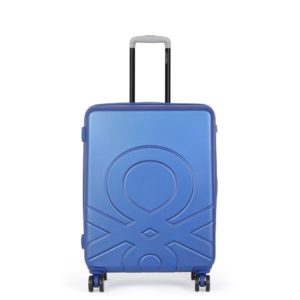 United Colors of Benetton Kabinový cestovní kufr ULTRA LOGO 35 l - modrá