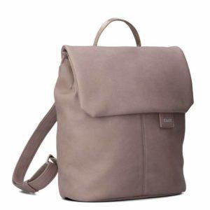 Zwei Dámský batoh Mademoiselle Nubuk MR8 4 l - taupe
