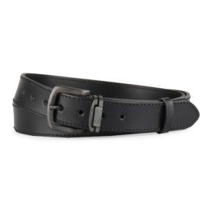 Penny Belts Nadměrný pánský kožený opasek 9-1-60 černý - 120