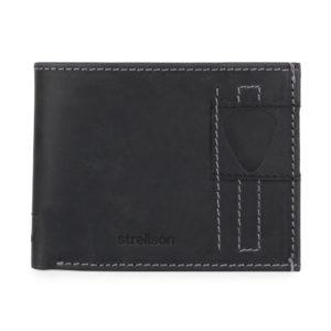 Strellson Pánská kožená peněženka Richmond 4010001306 - černá