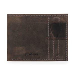 Strellson Pánská kožená peněženka Richmond 4010001306 - hnědá