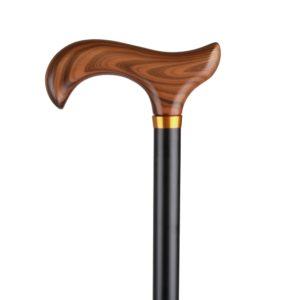 Walking sticks Nastavitelná vycházková hůl s dřevěnou rukojetí 345