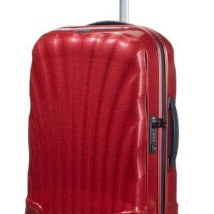 Samsonite Kabinový cestovní kufr Cosmolite Spinner 36 l - červená