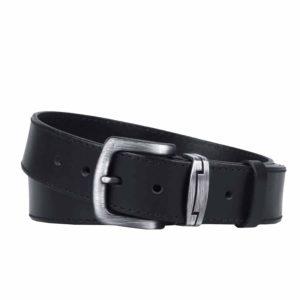 Penny Belts Pánský kožený opasek 09-1-60 černý - 105