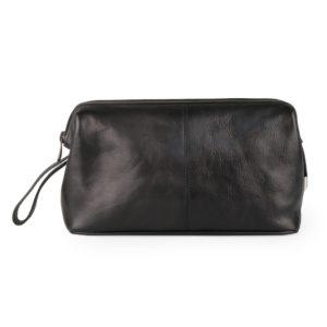Sněžka Náchod Kožená kosmetická taška 4236-černá