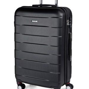 March Střední cestovní kufr Bumper M 71 l - černá
