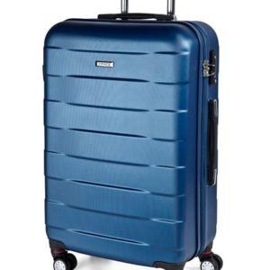 March Střední cestovní kufr Bumper M 71 l - světle modrá