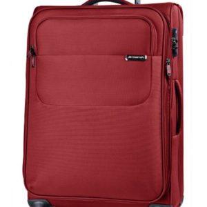March Velký cestovní kufr Carter SE 107 l - červená
