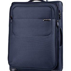 March Velký cestovní kufr Carter SE 107 l - modrá