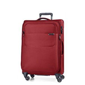 March Střední cestovní kufr Carter SE 79 l - červená