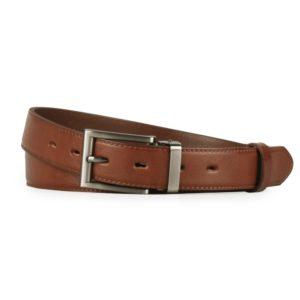 Penny Belts Pánský kožený společenský opasek 30-020-1-48 hnědý - 115