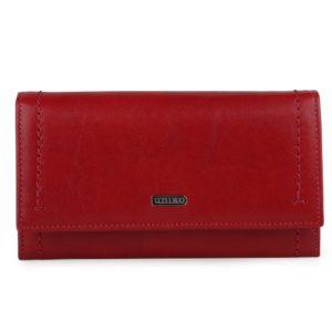 Uniko Dámská kožená peněženka Astoria 310904 - červená